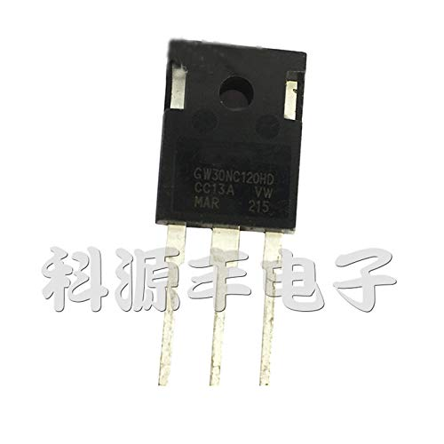 10pcs GW30NC120HD STGW30NC120HD TO-247 IGBT 1200V 60A High Power Transistor