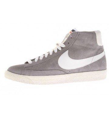 nike blazer mid PRM mens hi top trainers 429988 sneakers shoes (uk 7 us 8 eu 41, medium grey sail 003)