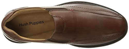 Hush Puppies Mens Picton Spion Slip-on Loafer Tan Leer