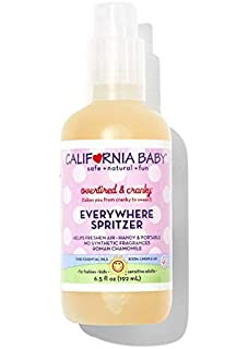 California Baby Aromatherapy Spritzer - Overtired & Cranky, ...