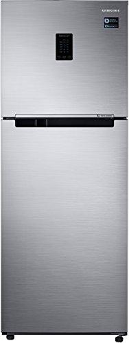 Samsung 321L 3 Star Frost Free Double Door Refrigerator  RT34M5518S8/HL, Elegant Inox, Convertible, Inverter Compressor