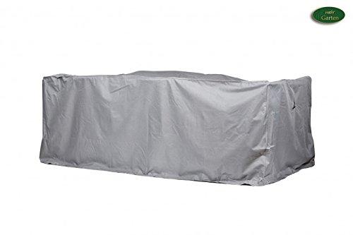 Gartenmöbel Schutzhülle/Abdeckung - Premium S/M (175 x 140 x 94 cm) Wasserdichte Abdeckplane für Sitzgruppe/Oxford 600D Polyestergewebe/mit Ventilationsöffnungen/Rechteckig