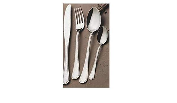 Gnali - Juego de 2 cuchillos de mesa con expositor (tamaño ...