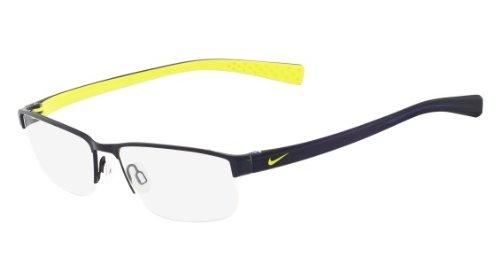 Nike Eyeglasses 8096 410 Satin Blue/Obsidian Demo 53 16