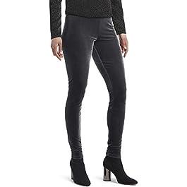 HUE Women's Velvet Leggings, Assorted
