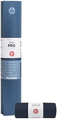 Manduka PRO Yoga Mat & eQua Yoga Towel Set