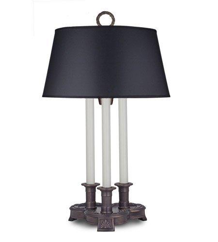 27'' 3-Way Desk Lamp Antique Old Bronze by Stiffel