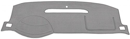 Pontiac Grand Am Dash Cover Mat Pad - Fits 1999-2005 (Custom Velour, Charcoal) ()