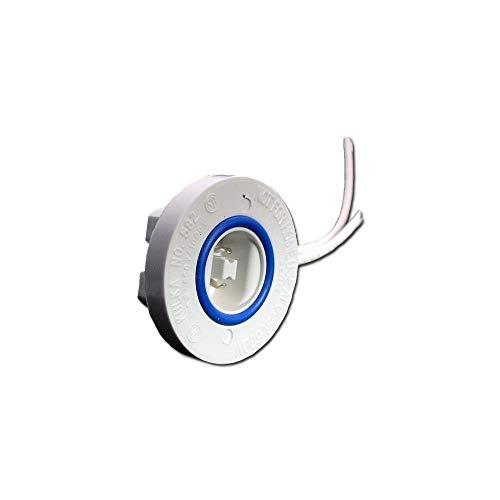 Kulka 00582 - #582 GDF Fixed End Lamp Holder for T12/HO Lamps (KULKA 582GDF FIXED END) ()