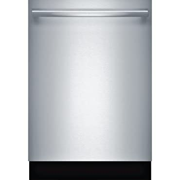 """Bosch SHXM98W75N 24"""" 800 Series Built In Fully Integrated Dishwasher with 6 Wash Cycles, in Stainless Steel"""
