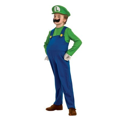 Super Mario Bros. - Luigi Child Costume