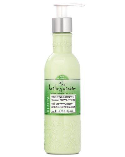 The Healing Garden Whipped Body Lotion, Vitalizing Green Tea, 6.4 oz.