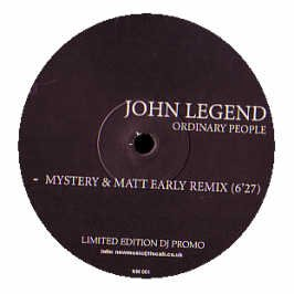 Bugz In The Attic / John Legend - Booty La La / Ordinary People