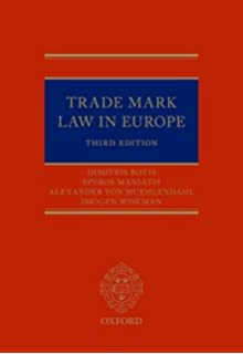 Trade Marks in Europe: A Practical Jurisprudence 3e