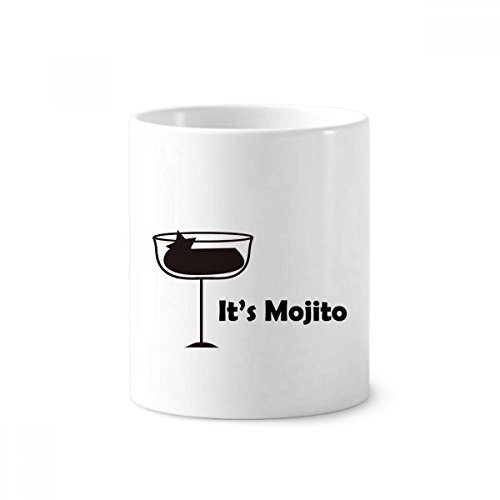 Mojito Coffee - Mojito With Its Cup Ceramic Toothbrush Pen Holder Mug White Cup 350ml Gift