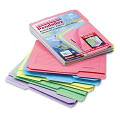 ESS45270 - Asst. Color Printed Notes Folders w/Fastener by Pendaflex ()
