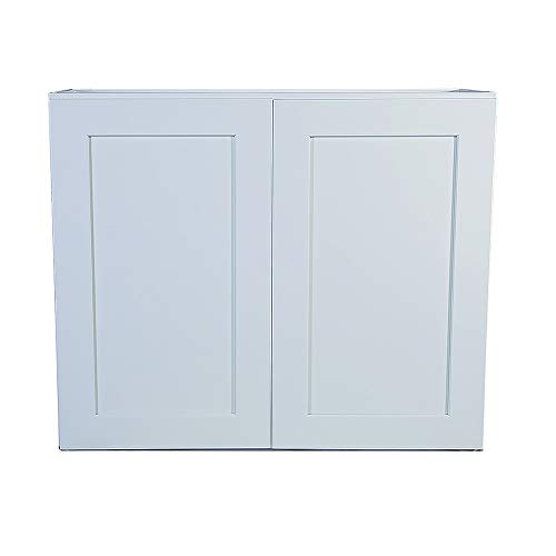 Design House 561613 Brookings 36-Inch Wall Cabinet, White Shaker