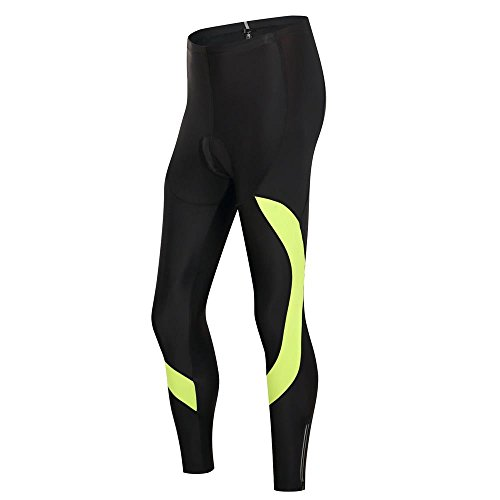 (Lo.gas Unisex Padded Road Cycling Tights Riding Pants Personalized Design)