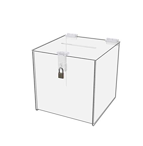 Marketing Holders Locking Ballot Box Suggestion Box Comment Box 8