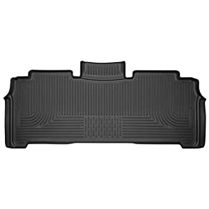 Husky Liners Fits 2017-19 Chysler Pacifica Weatherbeater 2nd Seat Floor Mat,Black,14011