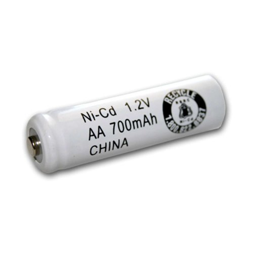 Exell 1.2V 700mAh NiCD AA Rechargeable Battery Button Top Cell Fast USA Ship