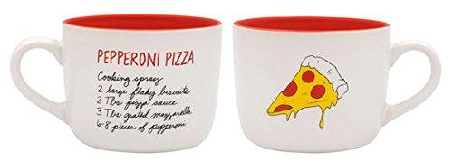 - RECIPease Comfort Foods Mug (Pepperoni Pizza)