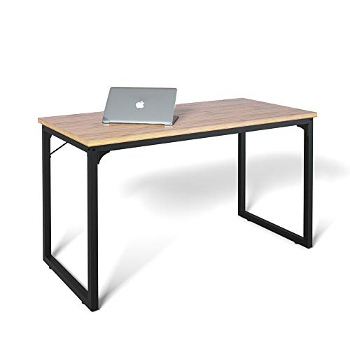 """Computer Desk 39"""", Modern Simple Style Desk for Home Office, Sturdy Writing Desk, Coleshome, Walnut"""