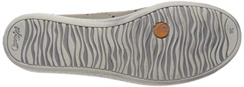 Ire499sof taupe Ballerines Gris 002 Femme Softinos w1xqHdp0H