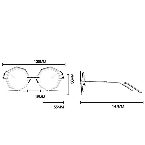 de de de de polígono definición C libre alta irregular ZHIRONG moda espejo conducción viajes sol aire B de Gafas al gafas playa polarizadas de Color q6wwxIYORP