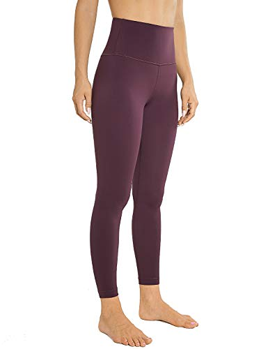 AGONVIN Sport Leggins Yogahosen für Damen Sporthose Lang Tights High Waist