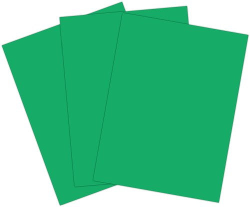 Roselle 9x12 Vibrant Construction Paper, 50 count, Emerald Green (CON3391250)