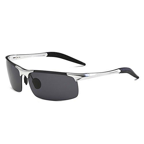 nocturne de des des vision de de soleil Argent CHshop polarisées lunettes soleil en Boîte lunettes Conduire Conduire Ow1qUxTC