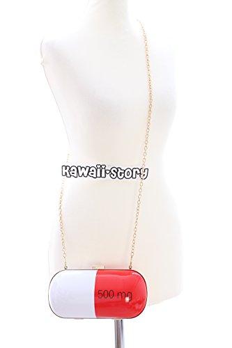 LB-66 Crazy Pill Medikament Pille Hart Case Pastel Goth Lolita Bag Japan Harajuku Tasche