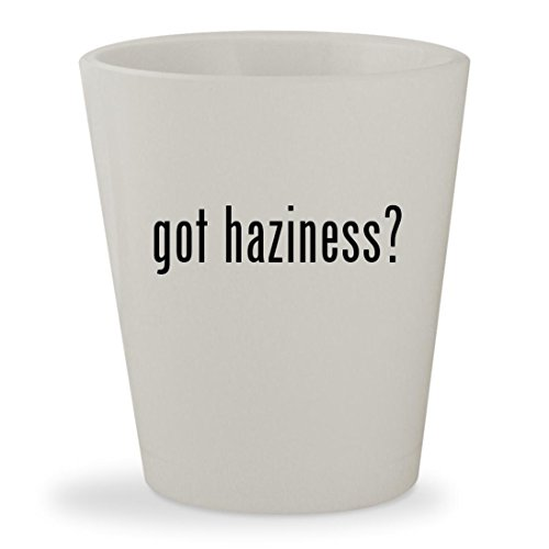 got haziness? - White Ceramic 1.5oz Shot (Glass 500 Snare)