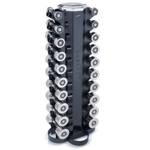 Hampton Fitness 10 Pair Chrome Beauty-Grips Studio Club Pack