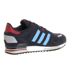 bc2f8e0f6d8c Adidas Zx700 Dark Navy Columbia Blue White - 4 UK  Amazon.co.uk  Shoes    Bags
