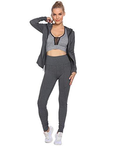 HOTLOOX-Active-Jackets-Set-for-Women-Long-Sleeve-Yoga-Workout-Running-Legging-Jacket-2-Piece-Tracksuits-S-XXL