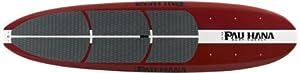 Pau Hana Big EZ Stand Up Paddle Board, 11-Feet, Red