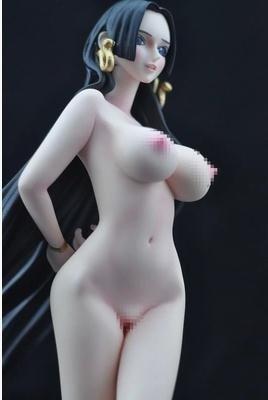 Naked boa hancock figure, dragon tatooed cock