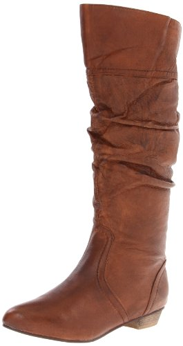 Steve Madden Women's Candence Boot,Tan Leather,8 M US