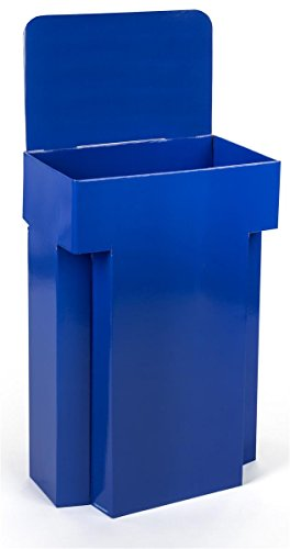 Set of 7 - Cardboard Dump Bin for Floor, Impulse Basket, Pop Display, 42.3