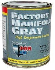 POR 15 FACTORY MANIFOLD GRAY HALF PINT MANIFOLD GRAY