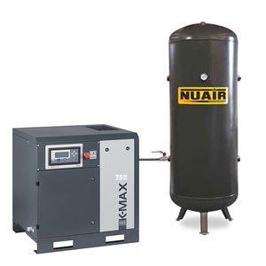 Compresor de aire de tornillo Silencioso 15 CV 500 L 10 bar NuAir
