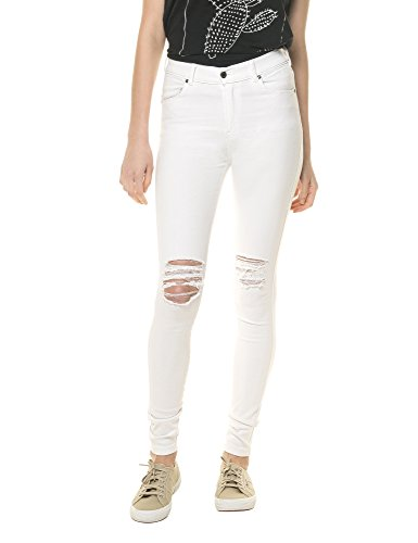 dr-denim-jeansmakers-womens-lexy-cotton-stretch-jeans-in-size-m-white