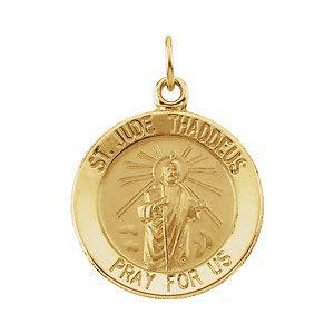Pendant-St Jude Thaddeus Medal