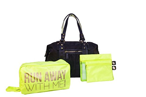 Hang Accessories Black Athleisure Yoga Tote Bag by Hang Accessories