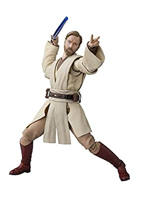S.H. Figuarts Star Wars OBI-Wan Kenobi (Star ??Wars: Revenge of The Sith) About 150mm ABS & PVC Painted Action Figure