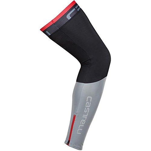 Castelli Tempesta Leg Warmers Black, L
