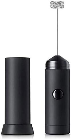 ミルク泡立て器、ダブル春のSteelhead、ラテカプチーノ用ステンレスドリンクミキサーとハンドヘルド電気泡メーカー