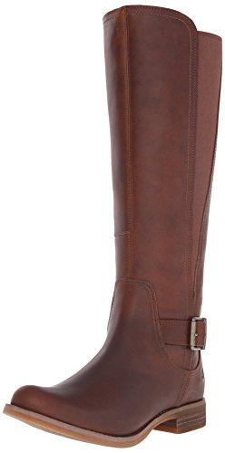 Timberland Womens Savin Hill Medium-Shaft Tall Boot Wheat Forty